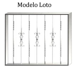 Reja modelo Loto