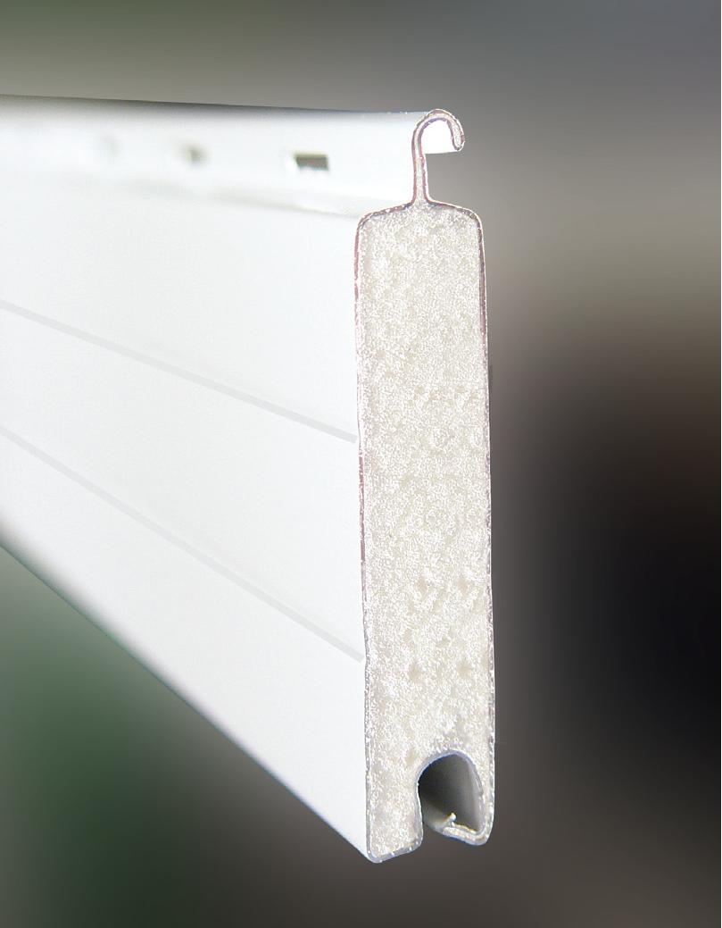 Lama recta aluminio R-45