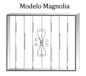 Reja modelo Magnolia