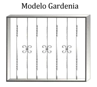Reja modelo Gardenia