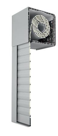 Persiana aluminio cajón aislante