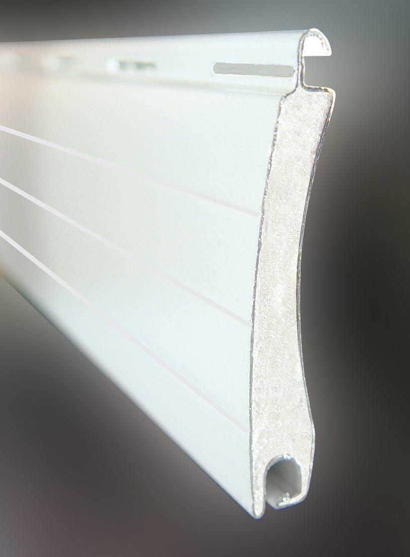 Lama curva aluminio R-50