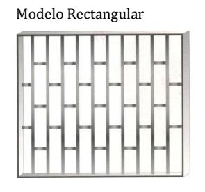 Reja modelo Rectangular