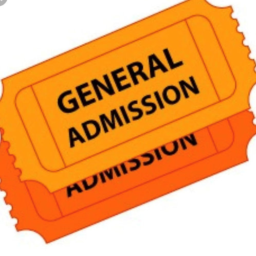 $35 Admission Plus Food