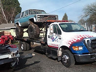 Raised Truck Monster Towing