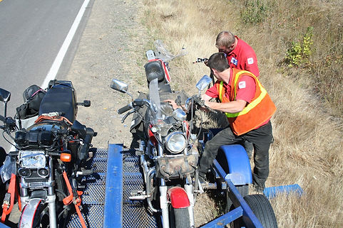 Bob's Towing Motorcycles Bikes Trailer Corvallis Albany Eugene