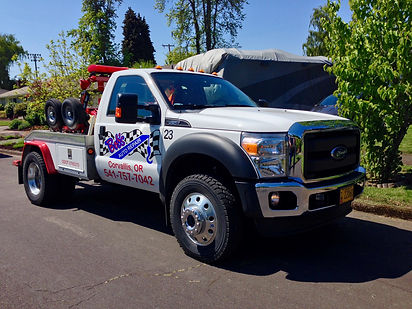 Bob's Towing Corvallis Eugene Albany Oregon B&R AA Towing