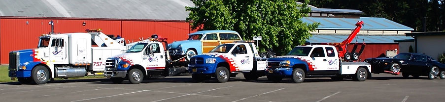 Bob's Towing Corvallis Fleet
