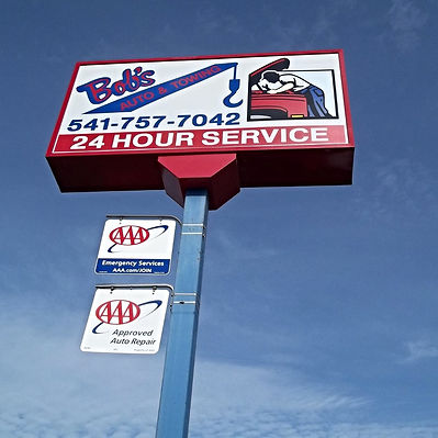 Bobs Towing Corvallis Eugene Albany B&R AA Towing