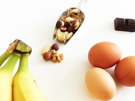 RECEPT - BANANENBROOD MET KOKOS, CHOCOLADE EN CRANBERRIES