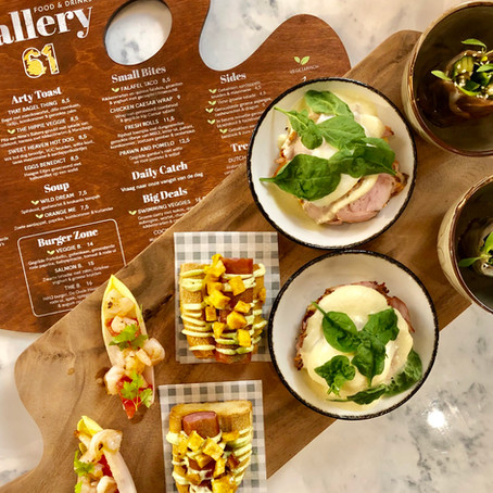 REVIEW - RESTAURANT GALLERY 61