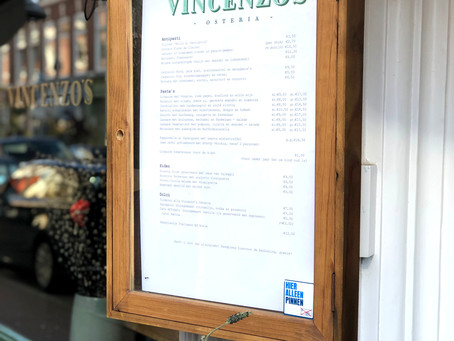 REVIEW  - VINCENZO'S OSTERIA