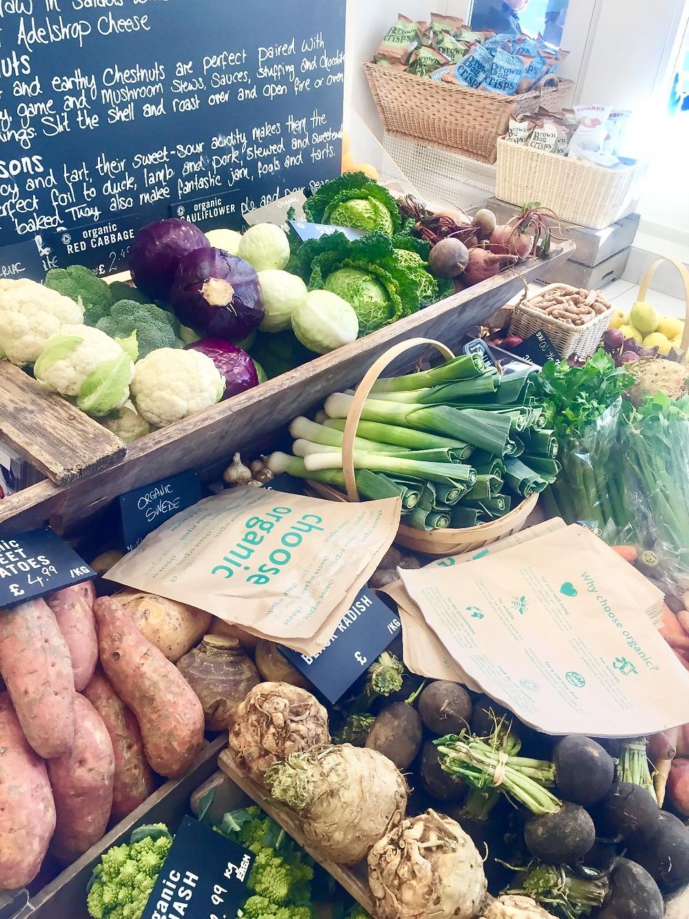 Daylesford veggies