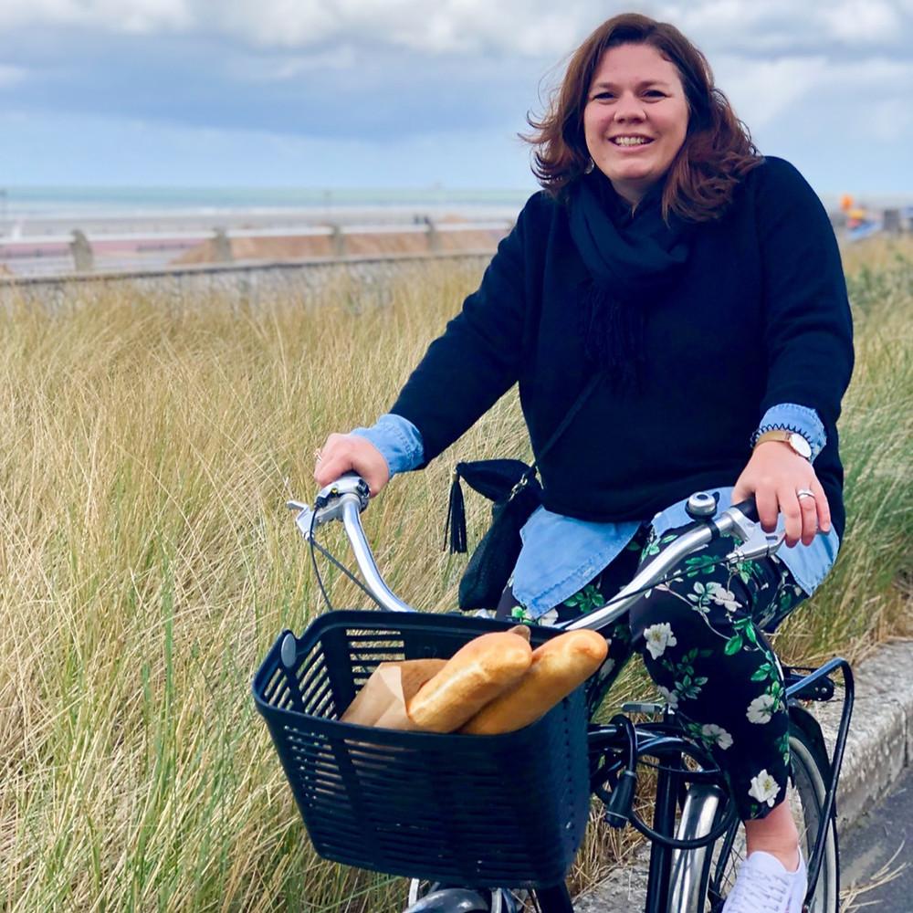Le Touquet op de fiets