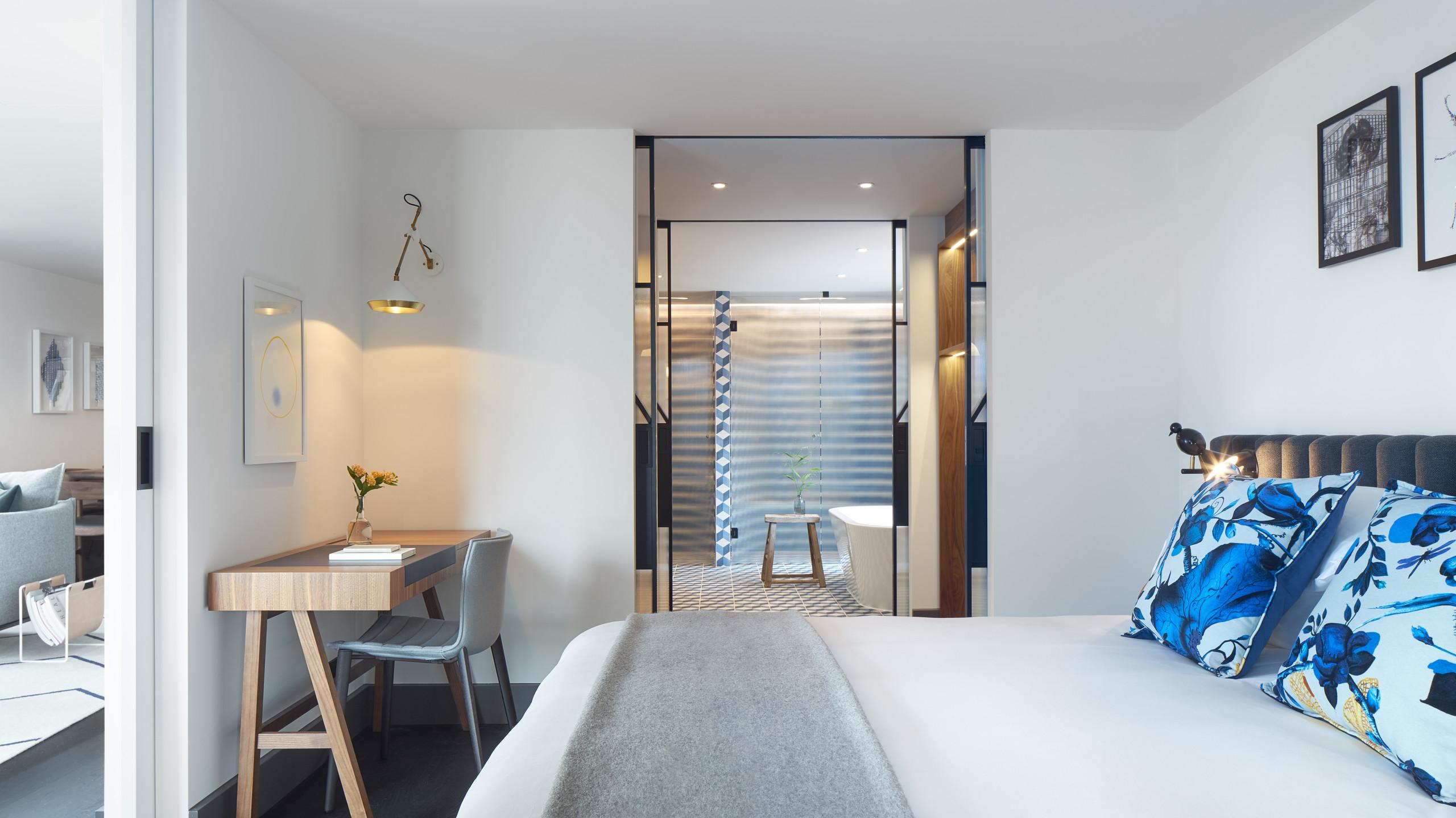 Kimpton de Witt- Penthouse Bedroom