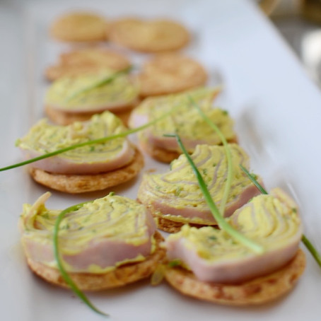 RECIPE - CHEESE BUTTERFLY APPETIZER