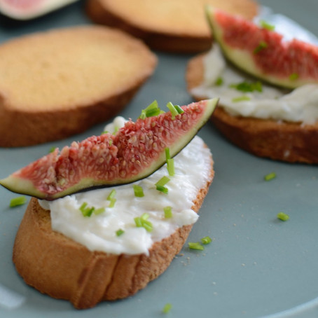 RECIPE - BLUE CHEESE FIG APPETIZERS