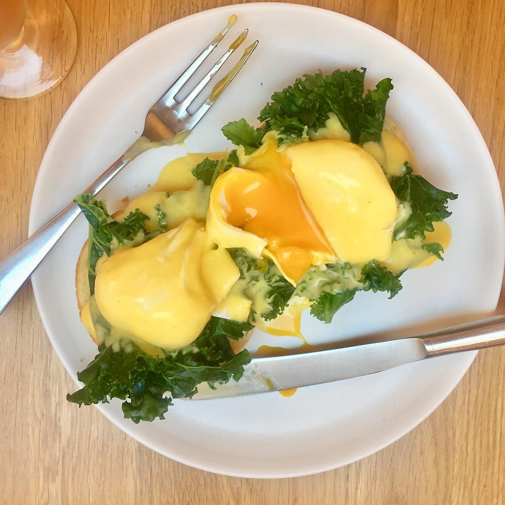 Daylesford eggs benedict