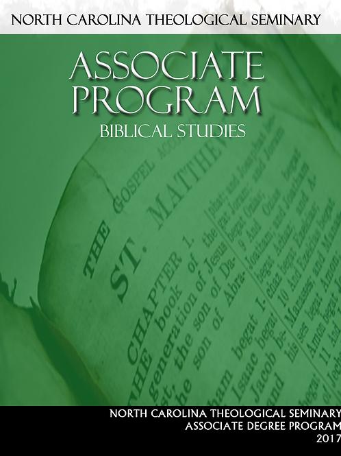 Digital Associate Biblical Studies