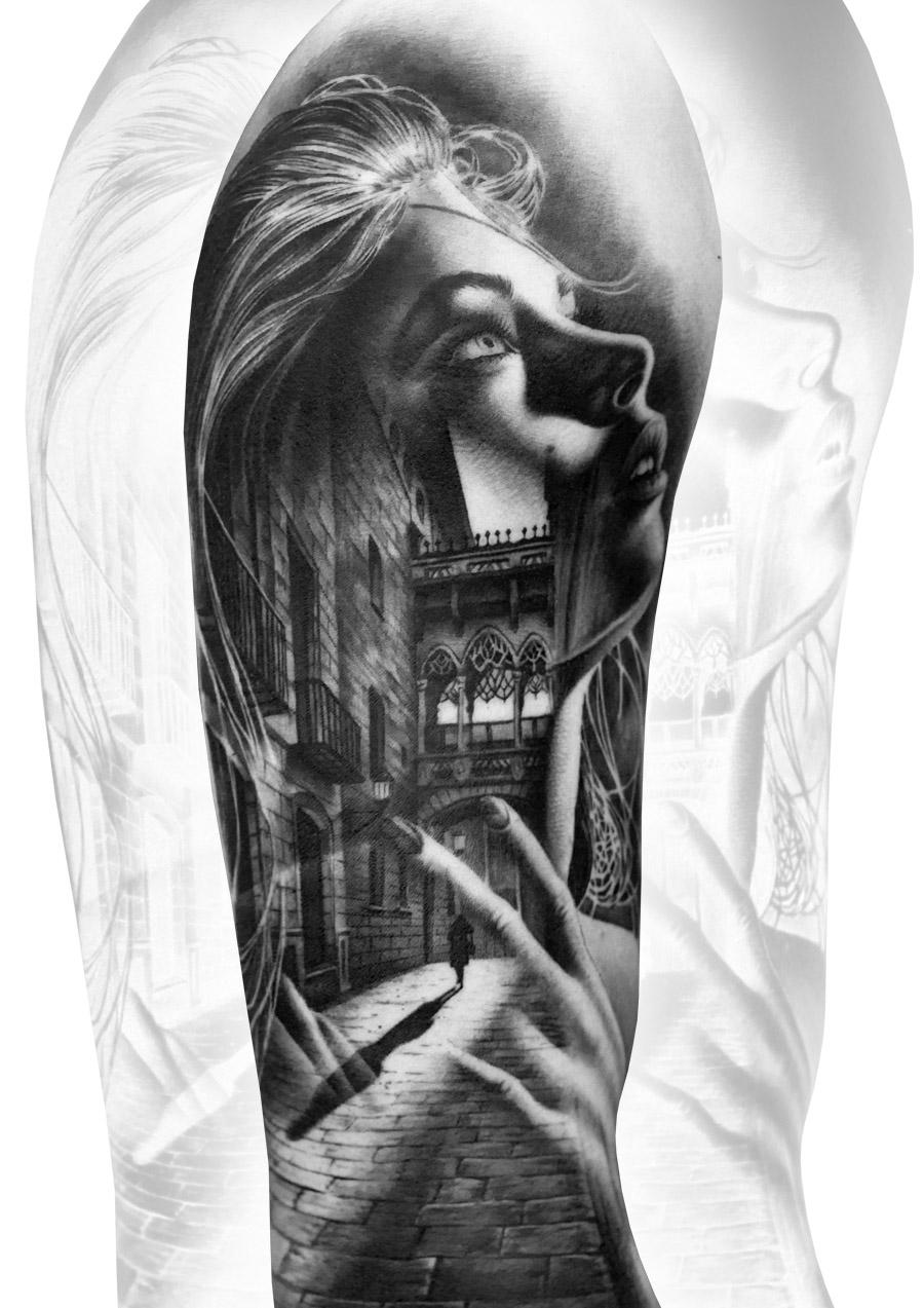 Steve Toth Tattoo Artist UK