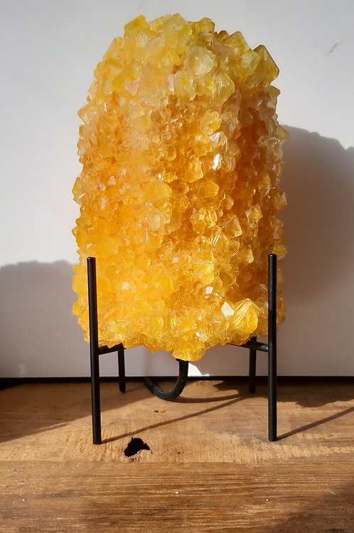 Crystal table lamp - Yellow