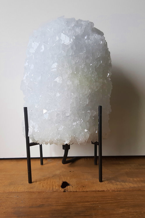 Crystal table lamp - White