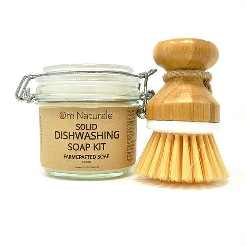 Solid Dishwashing Soap Kit