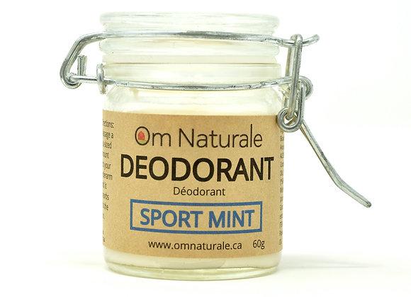 Natural Deodorant –Sport Mint (60g)
