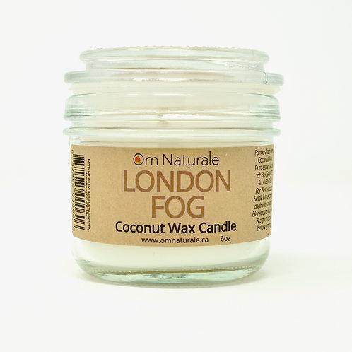 Coconut Wax Candle London Fog