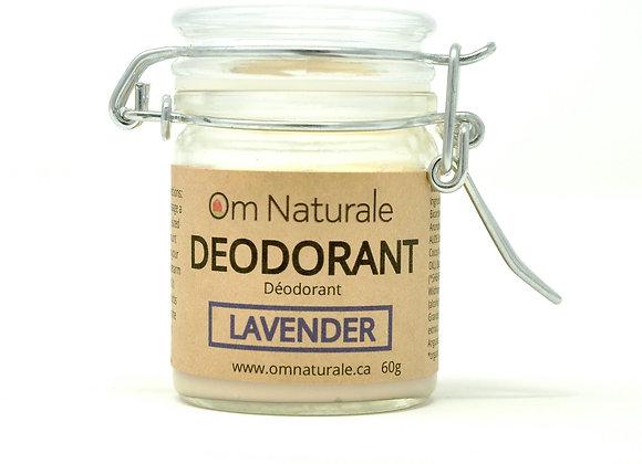 Natural Deodorant – Lavender (60g)