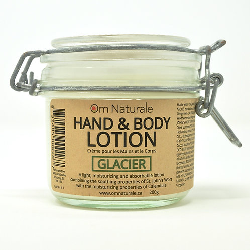 Hand & Body Lotion – Glacier