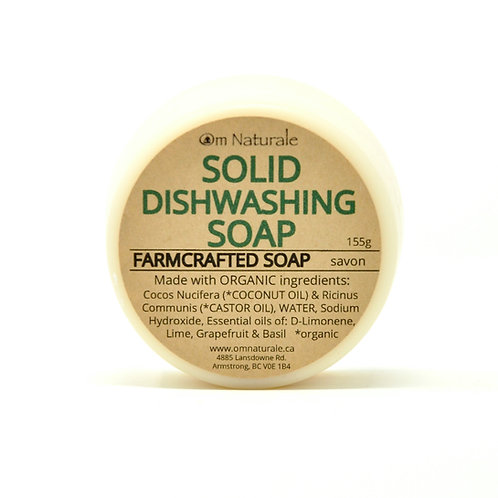 Solid Dishwashing Soap