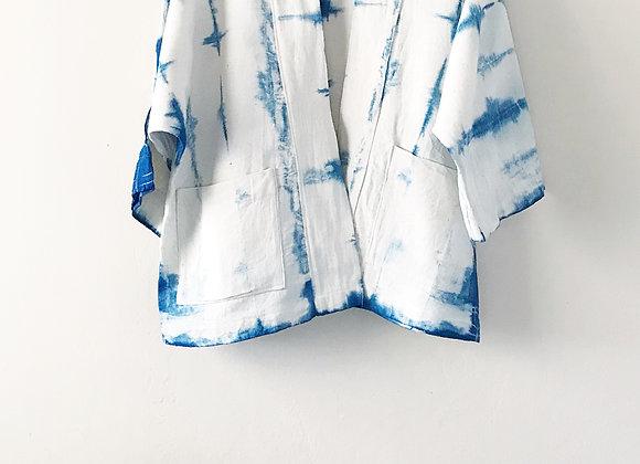 Claire Kimono Jacket - Geometric