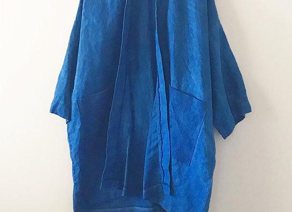 Long Indigo Jacket