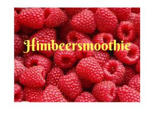 Himbeersmoothie