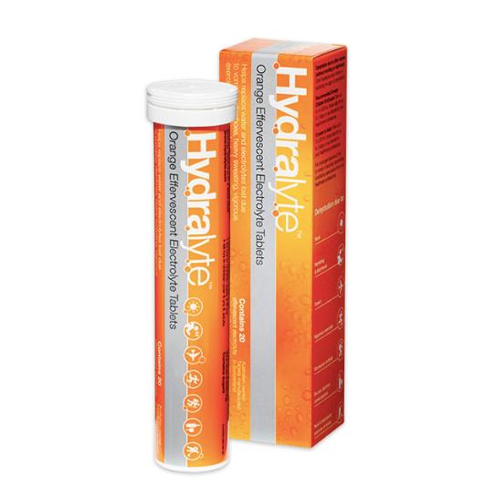 Hydralyte orange bottle