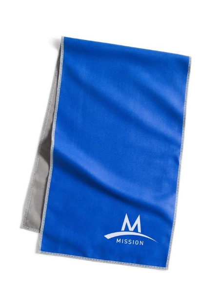 Blue Towel for cooling