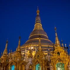 Schwedagon blue hour