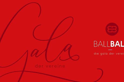Eintrittskarte | BallBall - die Gala der Vereine