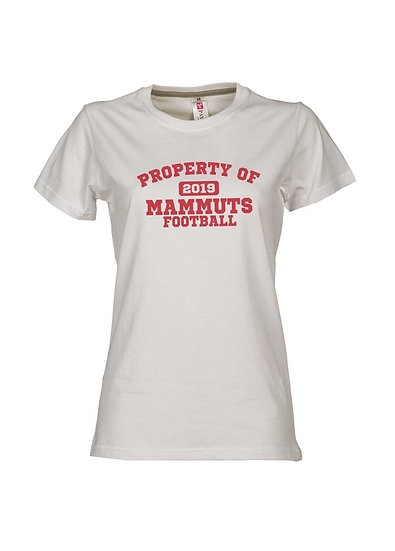 "Ladies-Spieler TShirt #3 ""Property of 2019..."""