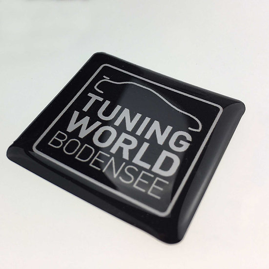"Doming Sticker ""TUNING WORLD BODENSEE"""