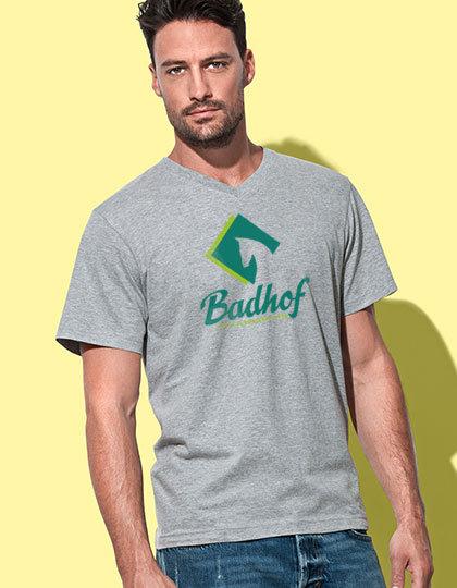 V-Shirt . Herren
