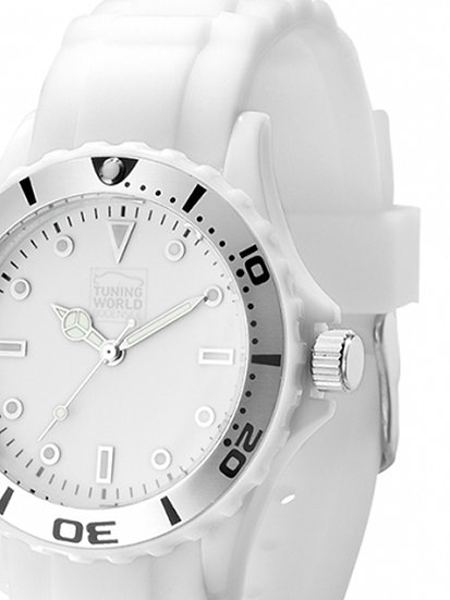 TUNINGWORLD-QUARZ . Unisex . white