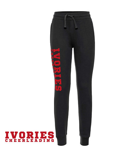 Ivories Cheerleading . Ladies JogPant / black