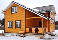 Частный дом из клееного бруса