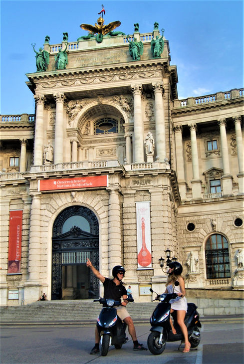 Classic Vienna Scooter Tour
