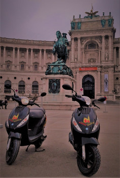 #prinz eugen wanna ride with #scootertours
