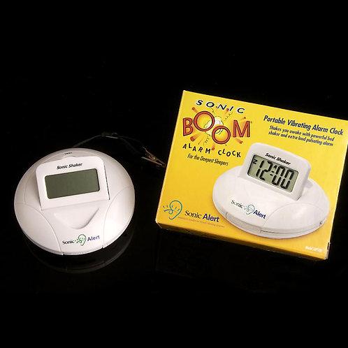 Sonic Boom Portable Shaker Clock