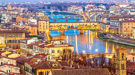 Honeymoon in Florence for a Blonde | Μήνας του Μέλιτος στην Φλωρεντία για μια Ξανθιά