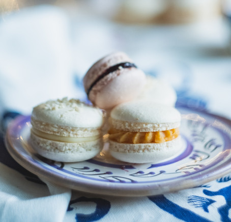 Macarons with Mizithra from Crete | Μακαρόνς με Μυζήθρα από την Κρήτη